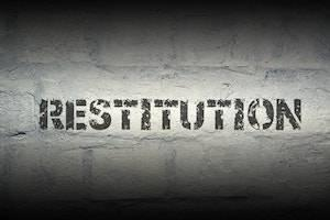 Joliet criminal defense attorney, restitution, property damage
